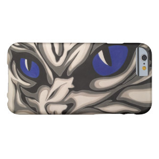 Silver Cat close-up Barely There iPhone 6 Case