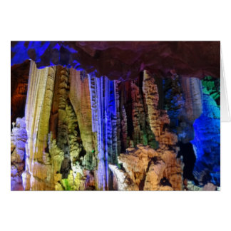 Silver Cave (Guilin, China) #2-2 Greeting Card