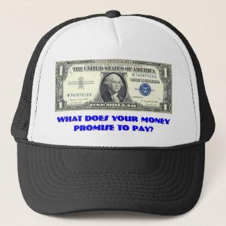 Silver Certificate Trucker Hat