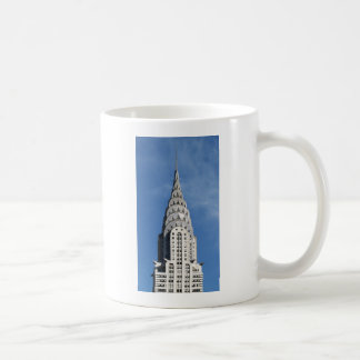Silver Chrysler Building Coffee Mug