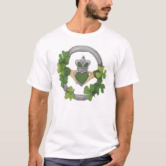 Silver Claddagh T-Shirt