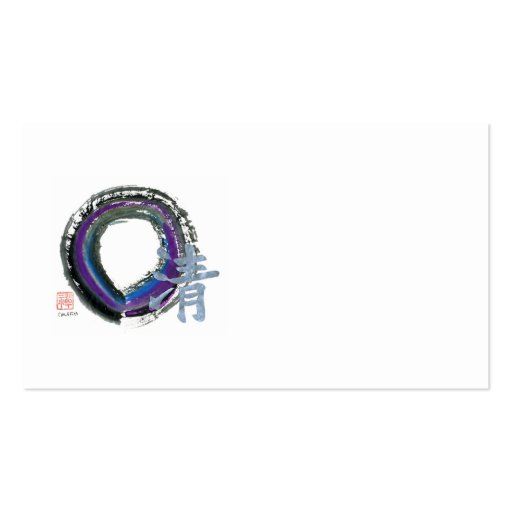 Silver Clarity, Enso Business Cards