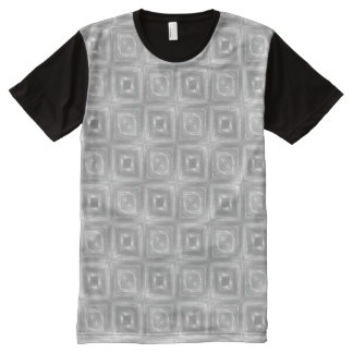 Silver Clear Plastic Look 0205 All-Over-Print T-Shirt