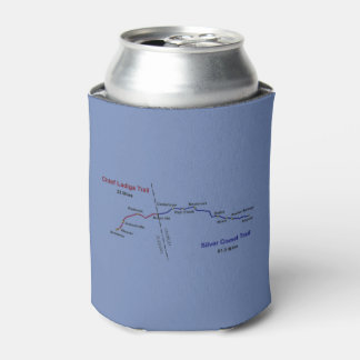Silver Comet / Chief Ladiga Trail Map Can Cooler