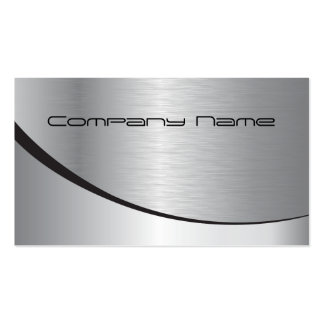 Silver Corporate Business Card