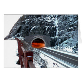 Silver Creek Tunnel Note Card
