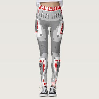 Silver Cross Leggings