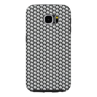 Silver crystal sequins samsung galaxy s6 cases