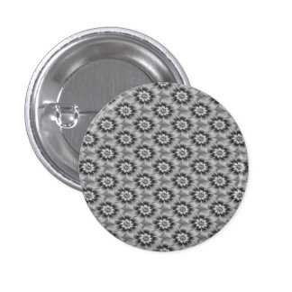 Silver Daisies Button