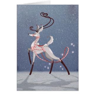 Silver Deer Card