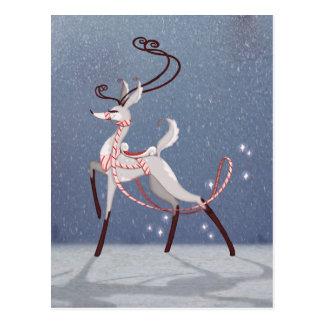 Silver Deer Postcard