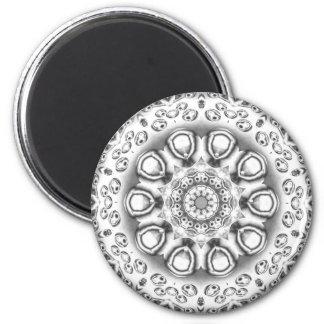 Silver Design Magnet