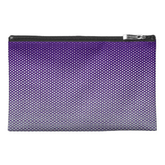 Silver dots on ANY color custom accessory bags