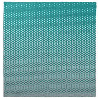 Silver dots on ANY color custom cloth napkins