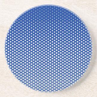 Silver dots on ANY color custom coaster