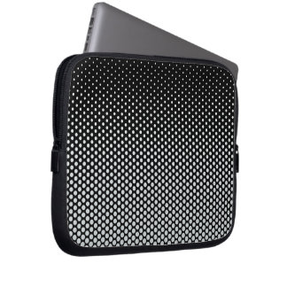 Silver dots on ANY color custom laptop sleeve