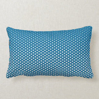 Silver dots on ANY color custom throw pillow