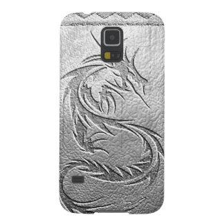 silver dragon galaxy s5 cases