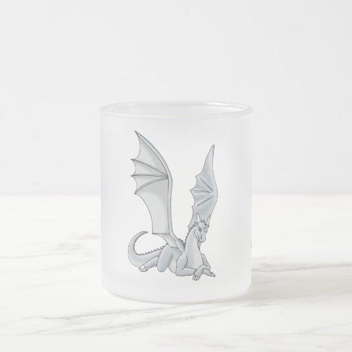 Silver dragon mugs
