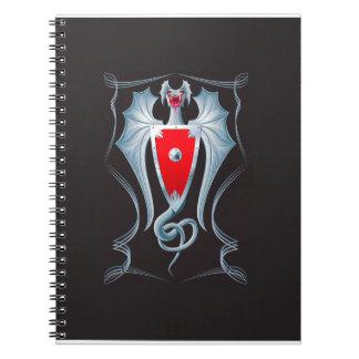Silver Dragon Shield Guardian Notebook