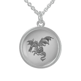 Silver Dragon Sterling Silver Necklace