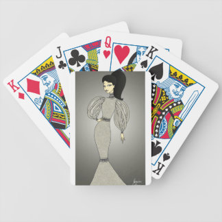 Silver Duchess Bicycle Playing Cards