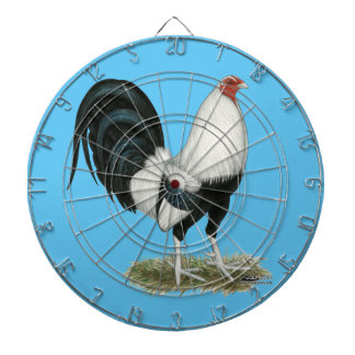 Silver Duckwing Gamecock Dartboard