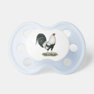 Silver Duckwing Gamecock Pacifier
