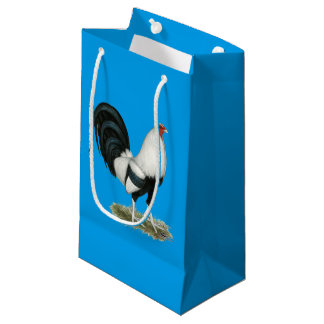 Silver Duckwing Gamecock Small Gift Bag