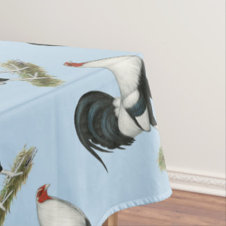 Silver Duckwing Gamecock Tablecloth