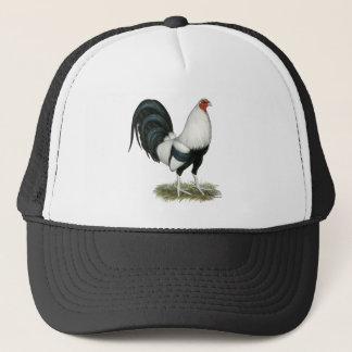 Silver Duckwing Gamecock Trucker Hat