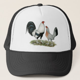 Silver Duckwing Gamefowl Trucker Hat