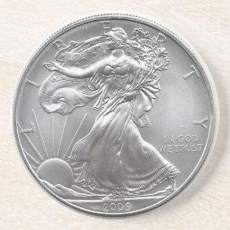 Silver Eagle Coaster