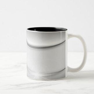 Silver effect Two-Tone coffee mug