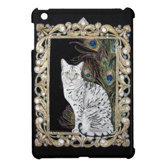 Silver Egyptian Mau iPad Mini Case