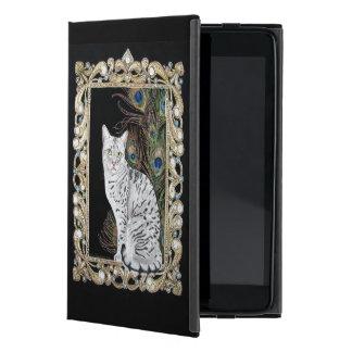 Silver Egyptian Mau iPad Mini Covers