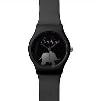 silver elephant - black watch
