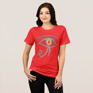 Silver Eye of Re Ladies Relaxed Fit Tee