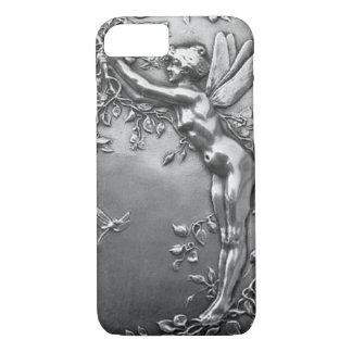 Silver Fairy Antique Art Nouveau Vintage Jewelry iPhone 8/7 Case