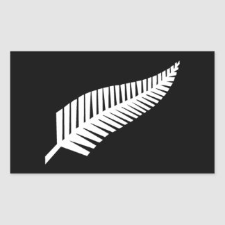 Silver Fern Flag of New Zealand