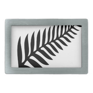 Silver Fern of New Zealand Belt Buckles