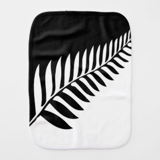 Silver Fern of New Zealand Burp Cloth
