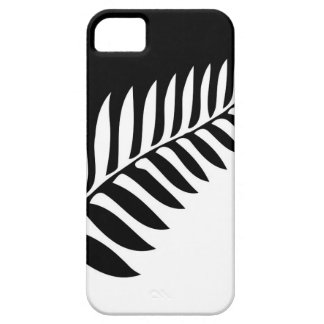 Silver Fern of New Zealand iPhone 5 Cover