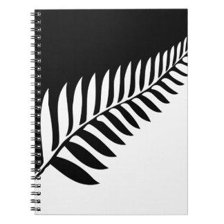 Silver Fern of New Zealand Notebook