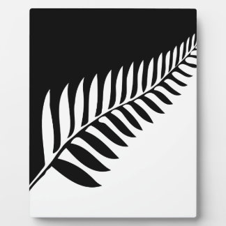Silver Fern of New Zealand Plaque