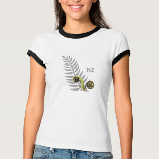Silver Fern with Koru T-shirt