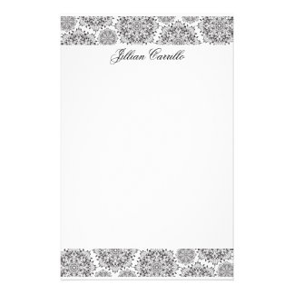 Silver Flame Stationery