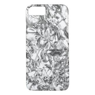 Silver foil design slim lightweight iPhone 7 case