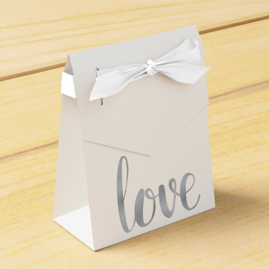 Silver foil favour boxes party favor box