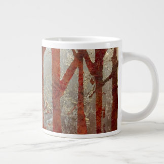 Silver Forest Large Coffee Mug